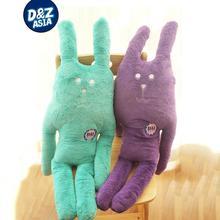 2015 new Japan PEAR plain purple Love Heart rabbit red green rabbit doll pillow birthday girl gift
