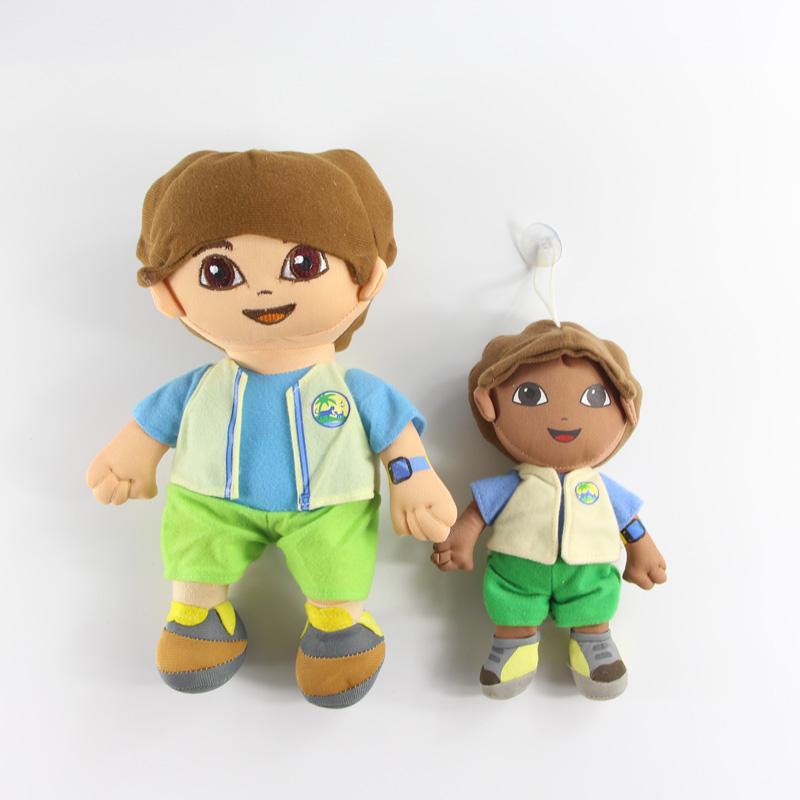 1pcs 30cm & 20cm Diego Plush Toys from Dora the explorer Cartoon(China (Mainland))