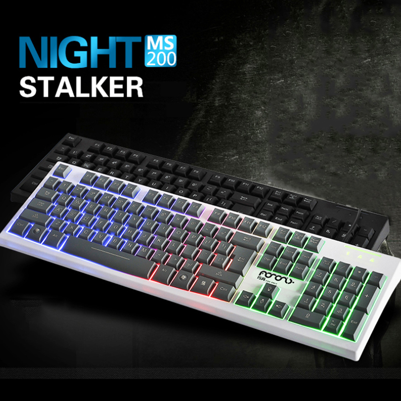 Gaming Keyboard USB LED Wired Gamer Keyboard Gaming LED Backlight Colorful Breathing Switchable Light Wired USB for Computer mac(China (Mainland))