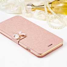 High Quality Brand Flip Phone Case For LG L70 D325 D320 L70 Dual L65 D280 Original Wallet Phone Cover Stander and Card Holder