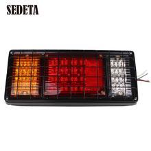 24V 40LED Trailer Rear Tail Light Red Stop Indicator Lamp Car Boat Van(China (Mainland))