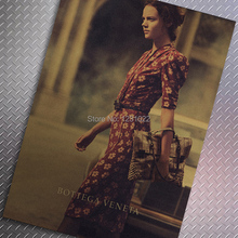 luxury brand advertising Vintage Style Retro Paper Poster Wall Bar House Art Decoration Mix Order 51X35CM C-12(China (Mainland))