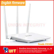 TENDA FH303 300Mbps Wireless WiFi Routers HOME AP Booster Wi Fi Repeater / Extender Wi-Fi Roteador 3 Antennas English Firmware(China (Mainland))