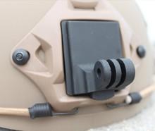 F06678 Helmet Aluminum Fixed Mount for Camera Gopro 4 Hero3 Hero2 HD and NVG Mount Base