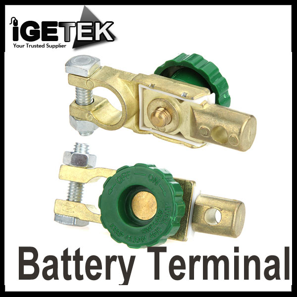 Battery Terminal Link Switch Quick Cut-off Disconnect Car Truck Auto Vehicle Parts Car Battery Accessory Wholesale(China (Mainland))