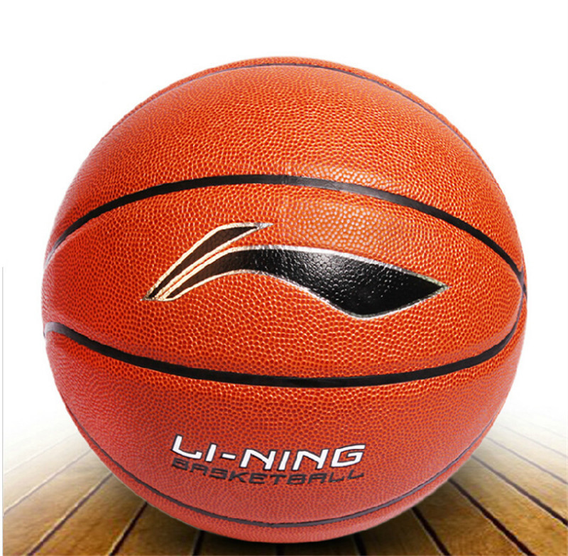 NEW Brand Hight Quality Genuine Li-Ning Basketball Ball PVC Materia Official Size7 Basketball Free Shipping(China (Mainland))