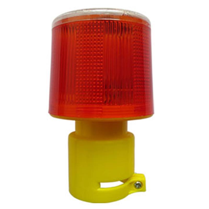 Solar Powered Traffic Light Safety Signal Beacon Alarm Lamp Solar Emergency LED Strobe Warning Light(China (Mainland))