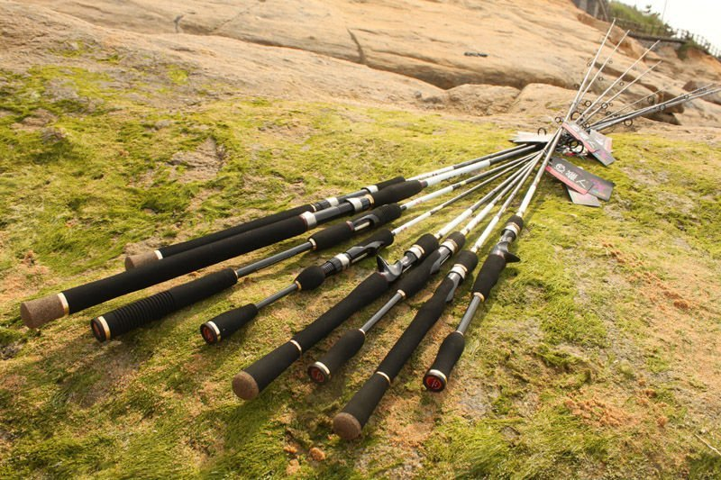 Brave fuji fishing tackle casting pole rod for fishing for Rocket fishing rod video