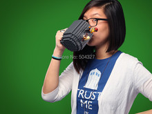 Free Shipping 1Piece 12oz Build-on Brick Mug Creative DIY Puzzle Block Coffee Cup