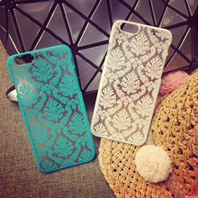 Hard Plastic Phone Cases For Apple iPhone 5 5S SE 6C 5C iphone5C 6 6 Plus 6S 6S Plus Cover Palace Paper Cut Flower Case(China (Mainland))