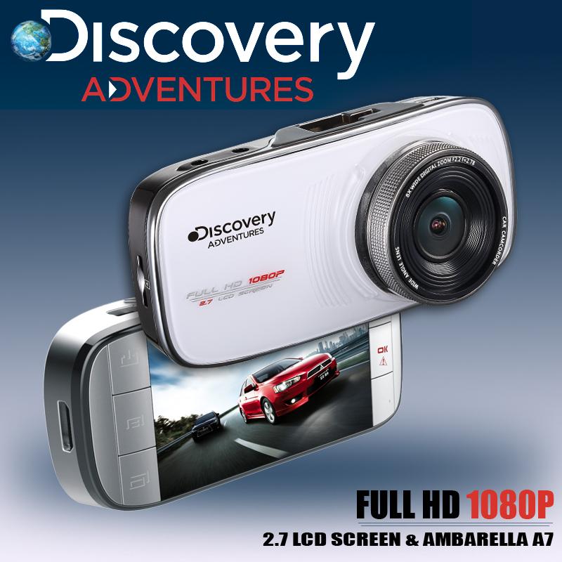 Discovery DC200 Video Recorder 1080P Car Camera Ambarella A7 WDR DVR G-sensor Registrator Mini Camcorder External GPS Tracker(China (Mainland))