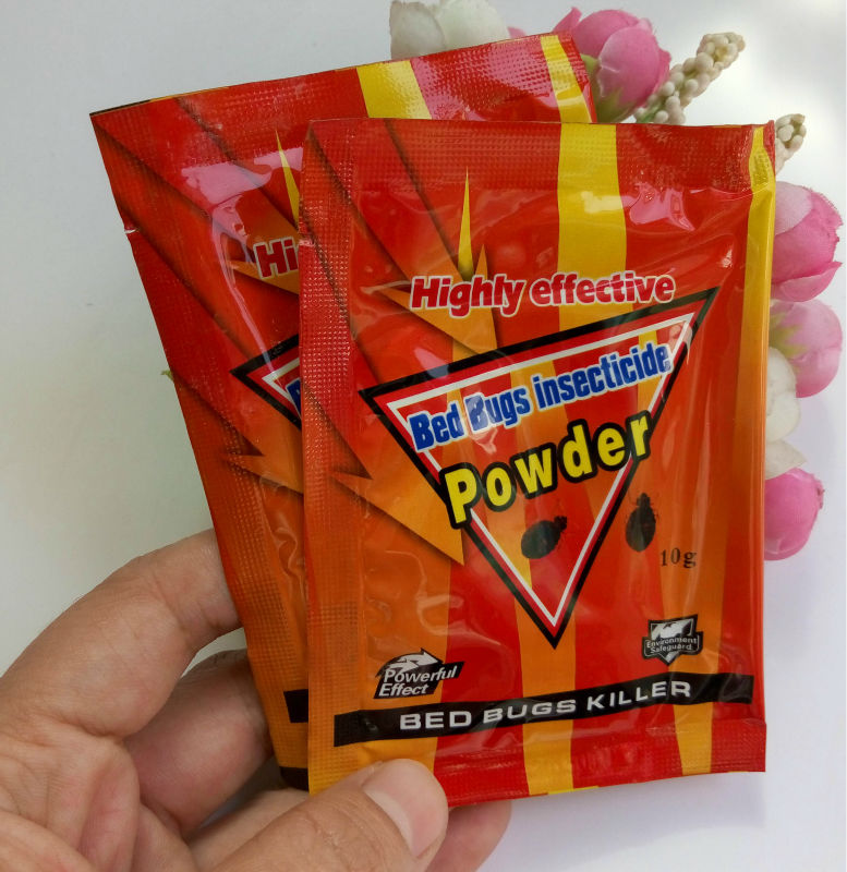 20 Bags Lot High Effective Bed Bug Killer Powder Kill Bed Bugs Fleas Ants Chinches And Microspie Pest Reject Hh16041a