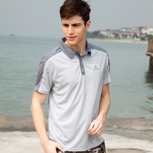 NEW 2015 summer outdoor mens brand camisa polo shirt male short sleeve man casual clothes breathable quick dry blusas masculinas