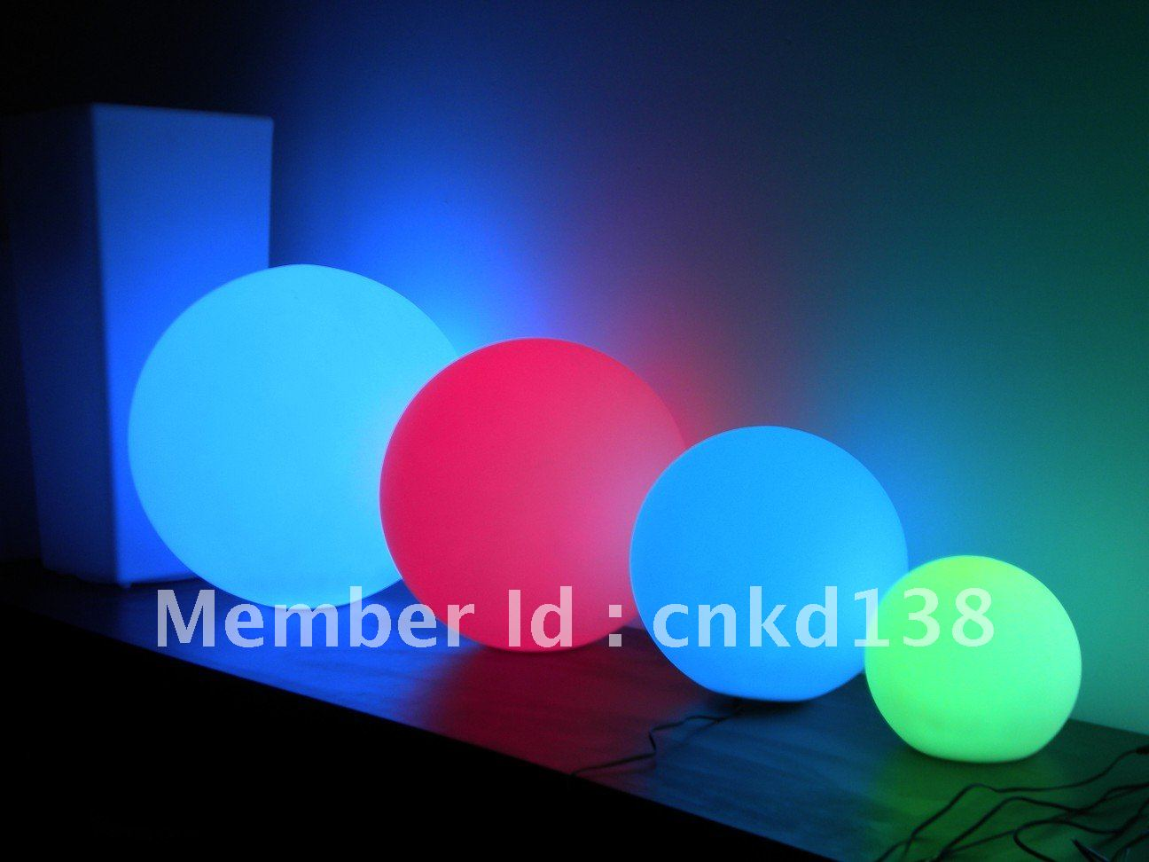 Led ball waterproof party decoration swimming pool tool - Decoration led interieur ...