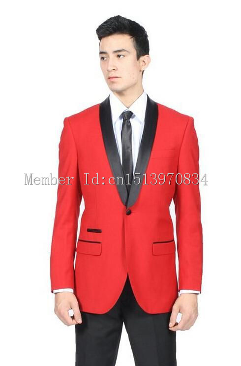 Red Prom Suits For Guys Dress Yy