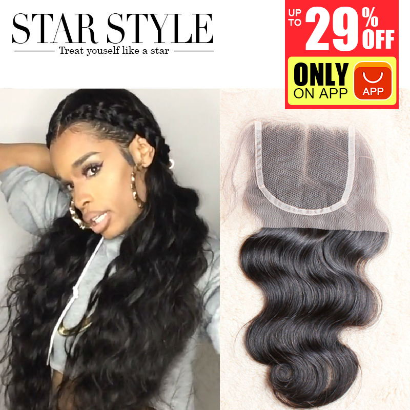 Cheap Free shipping brazilian virgin hair body wave lace closure 4X4 size Swiss lace full and thick Free parting Middle Parting<br><br>Aliexpress