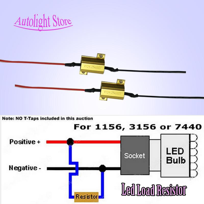 3157 canbus error free resistor led decoder warning error