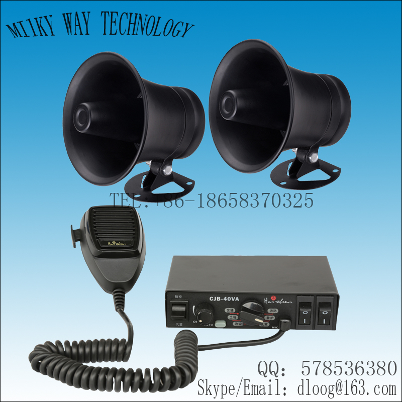 Car alarm as9200 speaker horn alarm 18 SOUNDS siren 400w wires ...