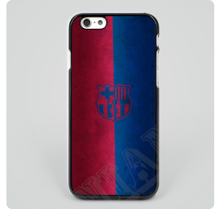 Red and Blue FC Barcelona hard skin plastic Mobile Phone Cases Cover housing For iphone 6 6 plus 5 5s 5c 4 4s free shipping(China (Mainland))