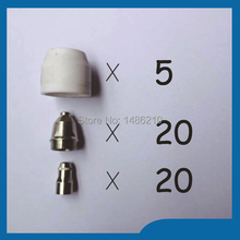 Buy 2015 P80 Panasonic Air Plasma Cutting Cutter Torch Consumables, Plasma TIPS,Nozzles 1.5mm,100Amp, Plasma Electrodes, 45PK for $34.99 in AliExpress store