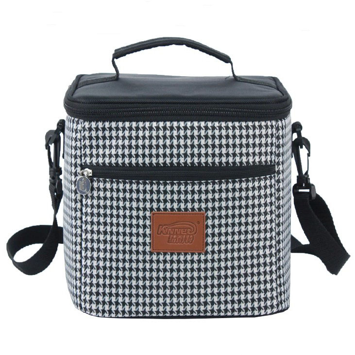 Lunch bags for women aliexpress com buy new plaid oxford lunch