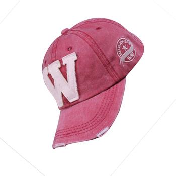 Trend all-match cowboy hat w letter baseball cap hiphop flat along the hat hip-hop cap male women's lovers
