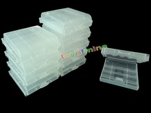 10x Plastic AA / AAA Battery Storage Hard Case Boxes Battery Holder for AA / AAA Rechargeable Battery 1.2V Ni-hm(China (Mainland))