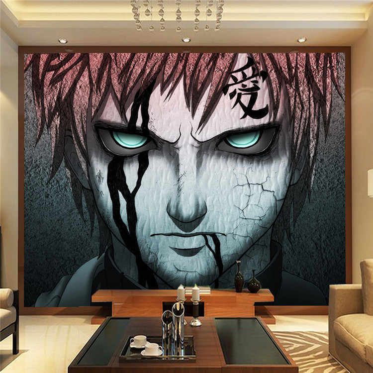 Japanese art materials promotion shop for promotional for Custom wall photo mural