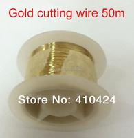 50M/pcs Golden Molybdenum Wire Cutting line For Iphone 4/4s/5/Samsung S4/S3 Glass separator refurbish Machine Repair