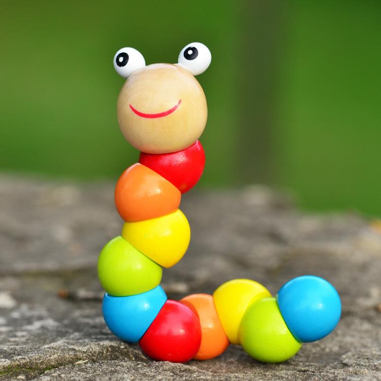 [해외]2015 귀여운 삽입 퍼즐 어린이 교육 나무 장난감 아기 어린이..