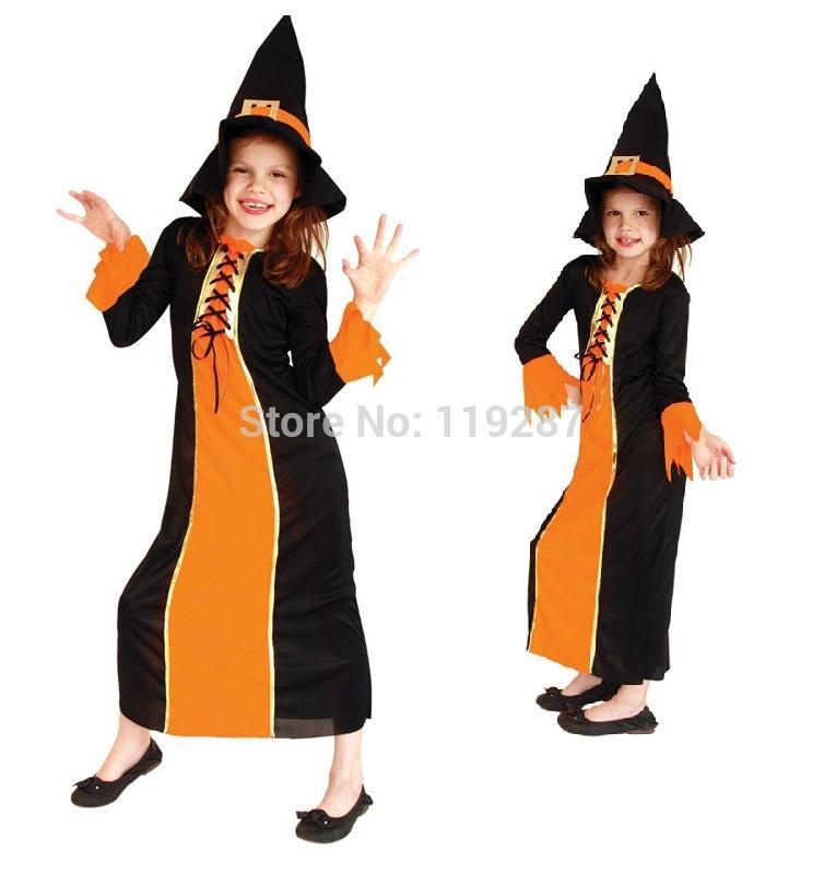 Girl Pumpkin Costume Costumes Girls Pumpkin