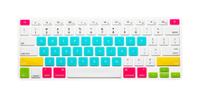 Christmas Gift sweet Candy Colorful Keyboard skin Cover for macbook air/pro/pro retina 13.3 15.4