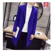 Trench coat Manteau homme Spring woolen coat Men's coat(China (Mainland))