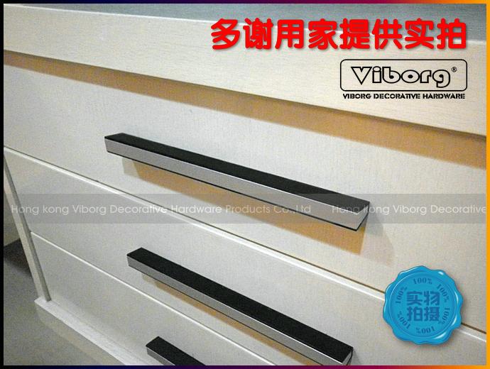 Гаджет  (4 pieces/lot) 120mm VIBORG Aluminium Alloy Drawer Handles& Cabinet Handles &Drawer Pulls & Cabinet Pulls, SB-07-128 None Мебель