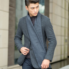 European Business Casual Men Scarves Long Thick Warm Neckerchief Modal Shawl High-grade Solid Men Scarves Gifts For Men(China (Mainland))