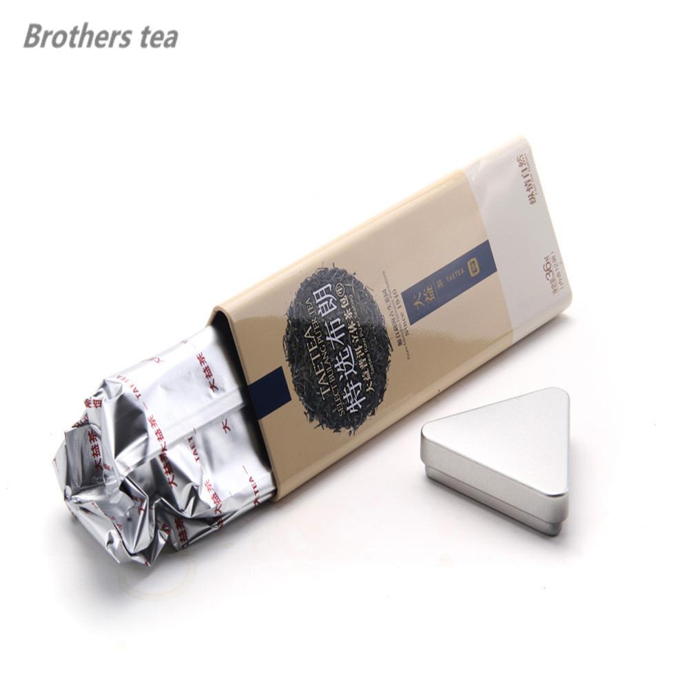 2016 Dry Alcohol Box Qs Sale Sex Products Hot !tea Black Selected Dayi Brown Pu'er 36g Teabag Warm Flavor Health Organic Food(China (Mainland))