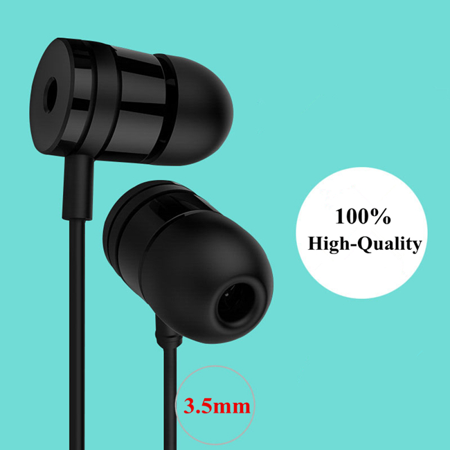 Freeshipping Heavy bass headphones  in-ear headphone clear voice earphone MNOMARK