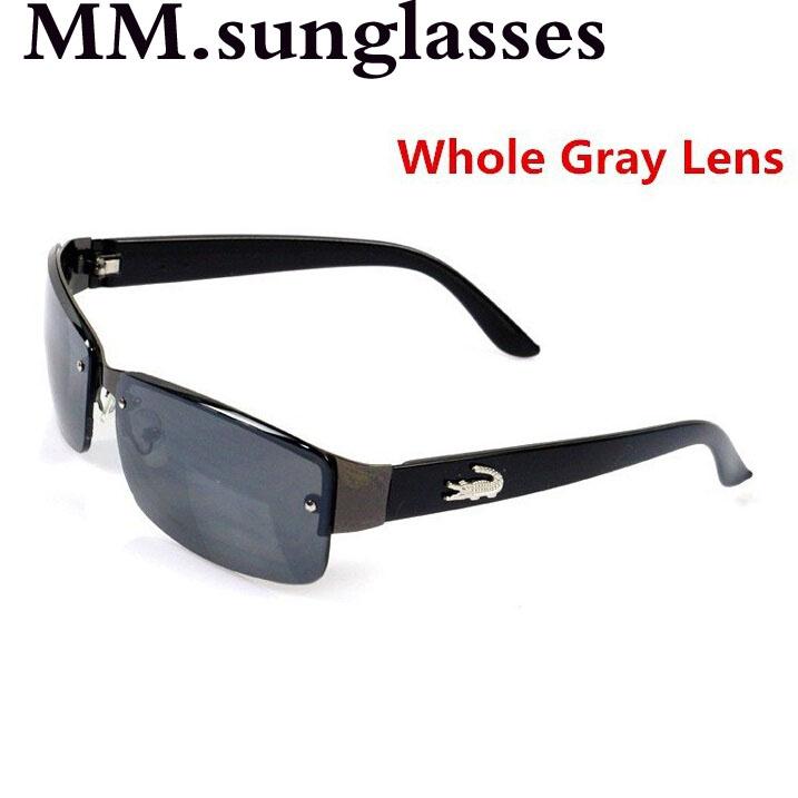 2015 New Fashion Square Sunglasses Men Driving Outdoors Sun Glasses Brand Designer Spors Crocodile Gafas Oculos