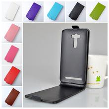 Для Asus Zenfone 2 лазерная ZE550KL ZE551KL ( 5.5 дюйм(ов) ) чехол бренд класса люкс пу кожаный защитить кожу панель телефона мешок