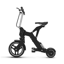 AK- ultra portable folding electric bicycle riding two wheeled bicycle lithium battery(China (Mainland))