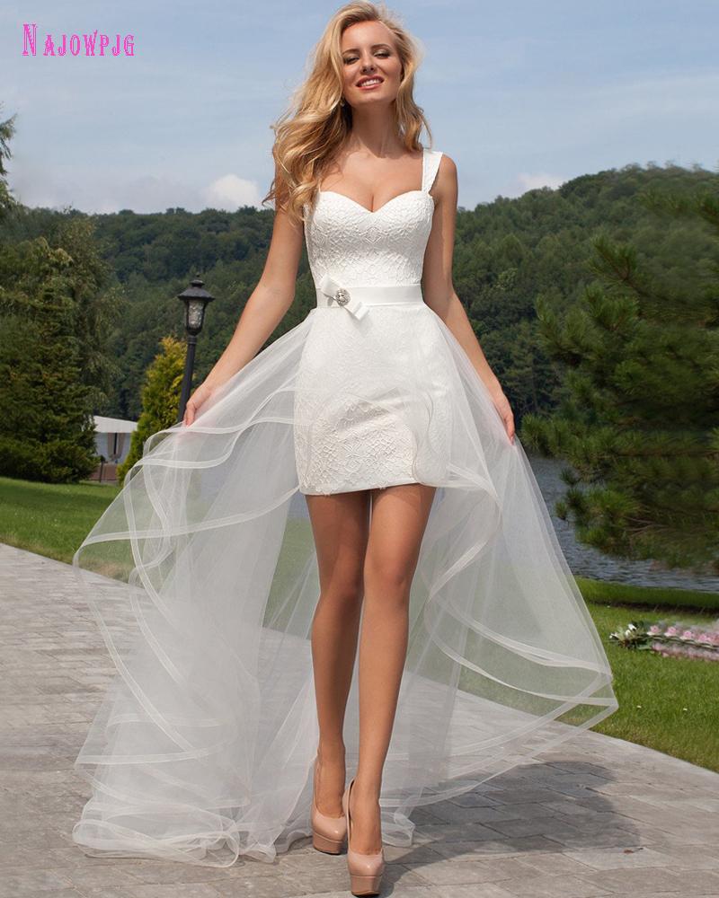 list detail high low wedding dresses with sleeves high low wedding dress Online Get Cheap High Low Wedding Dresses Aliexpress com