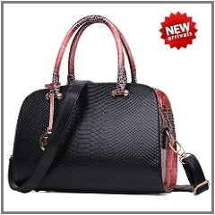 European And American Fashion Luxury Women Leather Bats Bag Designer