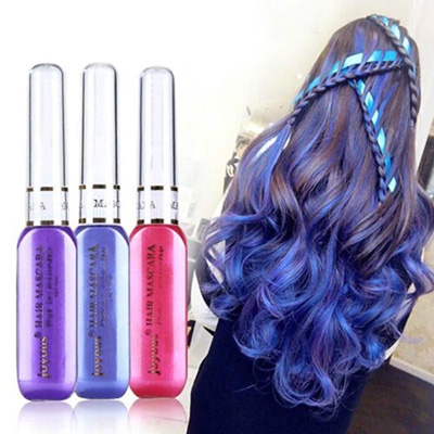 7pcs/lot Hair Coloring disposable pen hair dyeing agent spray coloring Hair Coloring cream crayon gradient Hair Perms