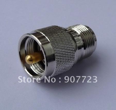 Гаджет  UHF PL259 male to N female adapter connector None Электротехническое оборудование и материалы