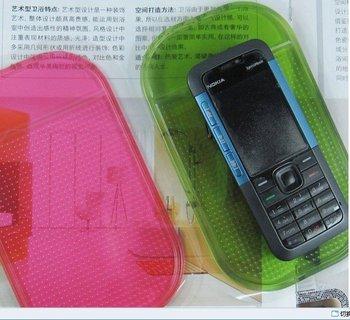 Free shipping The New wholesale non slip stickers car anti slip mat\ Car Anti slip Pad small convenient colorful pad