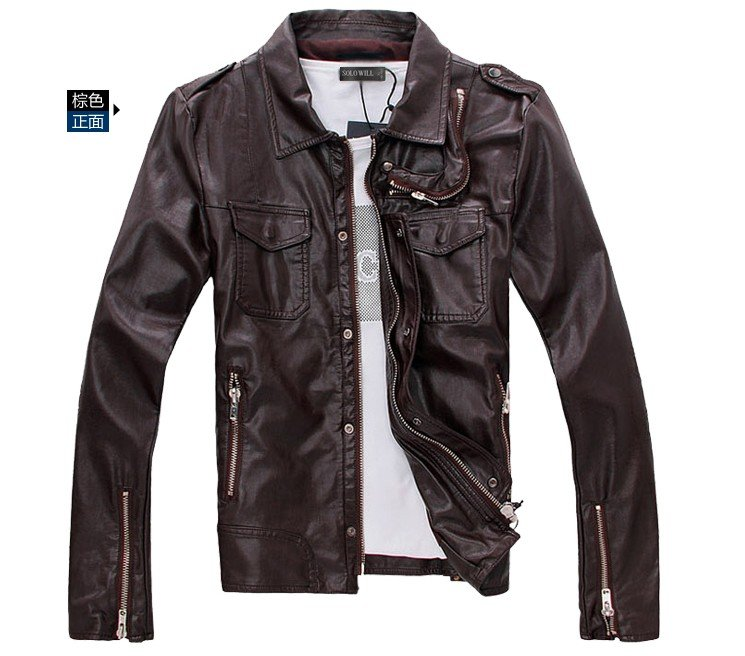 Leather Motorcycle Jackets For Men - Coat Nj