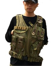 Free shipping Tactical Vest army combat uniform Vest 5 Color(China (Mainland))