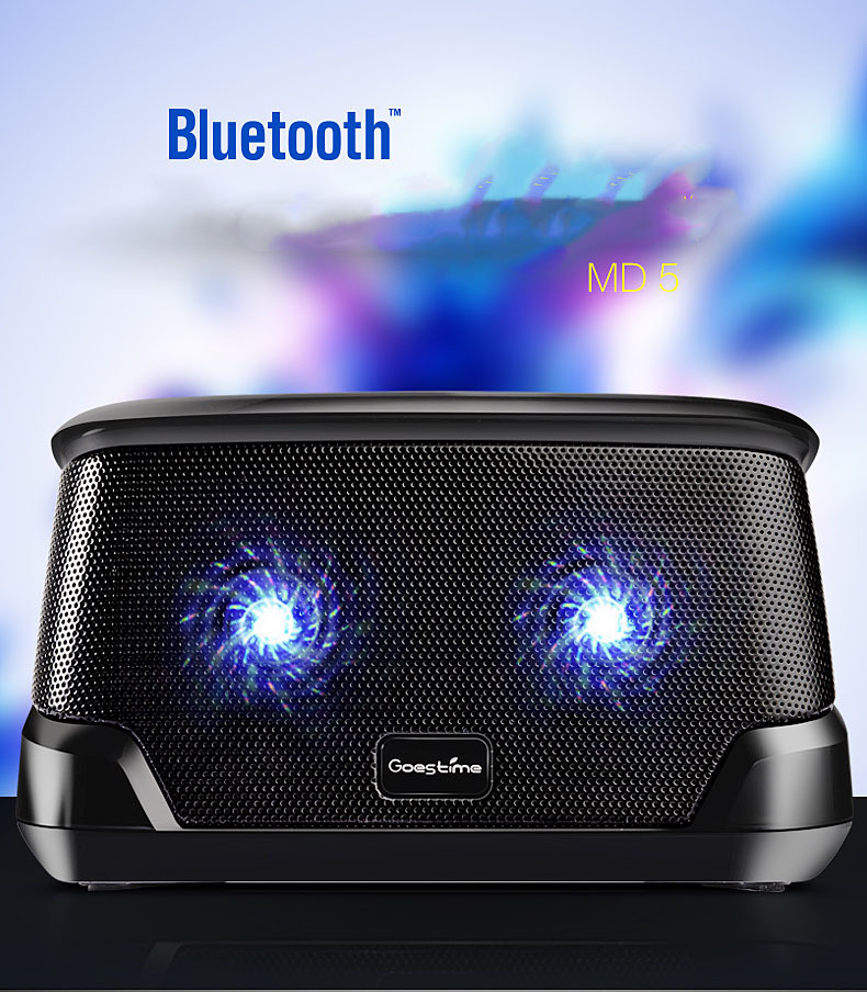 Wireless Speaker Radio Subwoofer Box Built-in Mic Hands-free Portable Mp3 Mini bluetooth 4.1 iphone fashion speaker