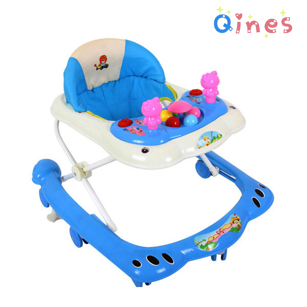 Free shipping!baby musical walker Child baby walkers car baby walker wheels with music and led color lights<br><br>Aliexpress