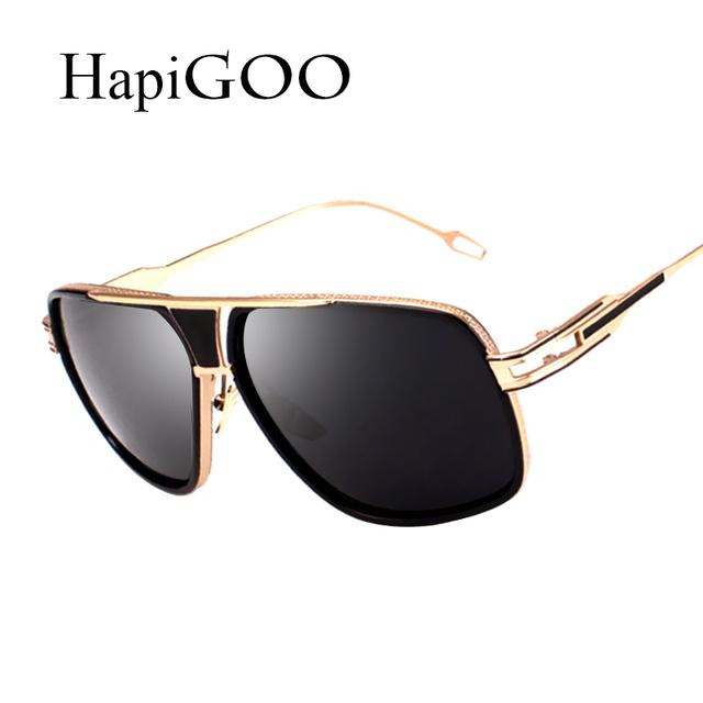 Hapigoo бренд дизайнер 2016 новинка мужчины солнцезащитные очки-женщинам старинные ...